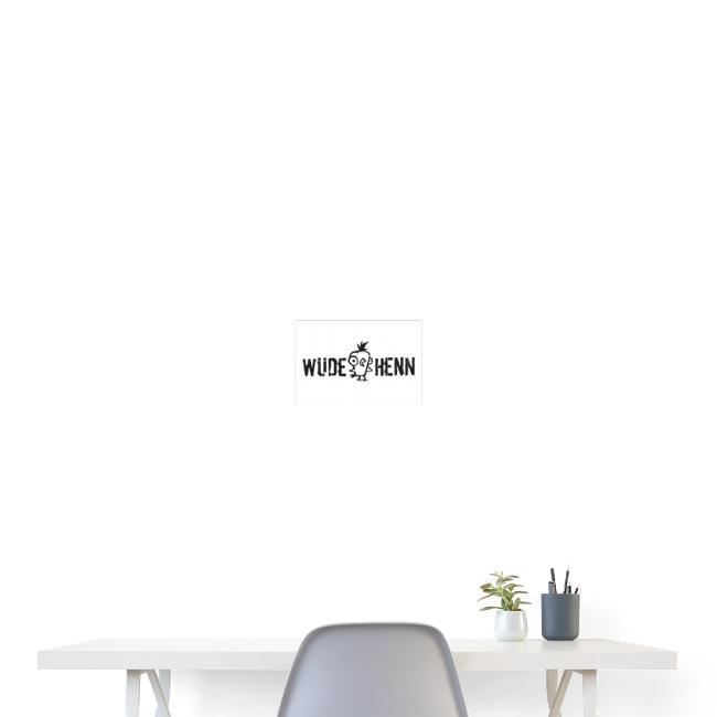 Vorschau: Wüde Henn - Poster 30x20 cm