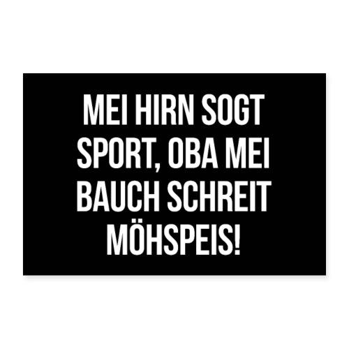 Vorschau: Klassiker Sprüche - Poster 30x20 cm