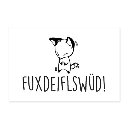 Vorschau: Fuxdeiflswüd - Poster 30x20 cm