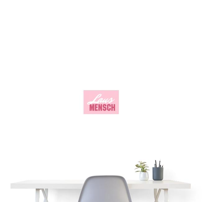 Vorschau: Lausmensch - Poster 30x20 cm