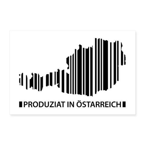 Vorschau: Produziat in Östarreich - Poster 30x20 cm