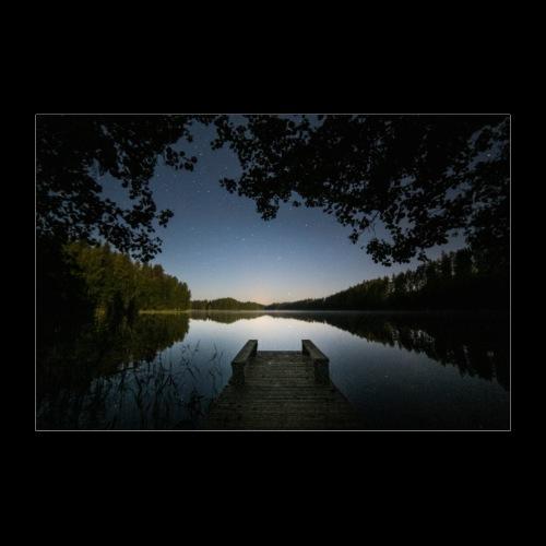 Kesäinen yö - Juliste 30x20 cm