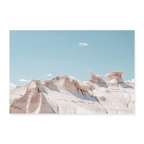 White Rocks - Poster 30x20 cm