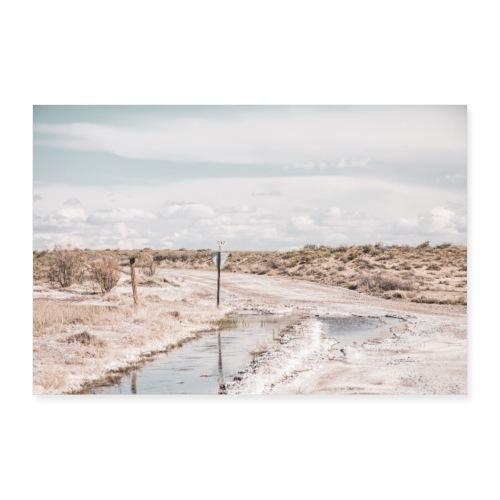 Dirt Road - Poster 30x20 cm