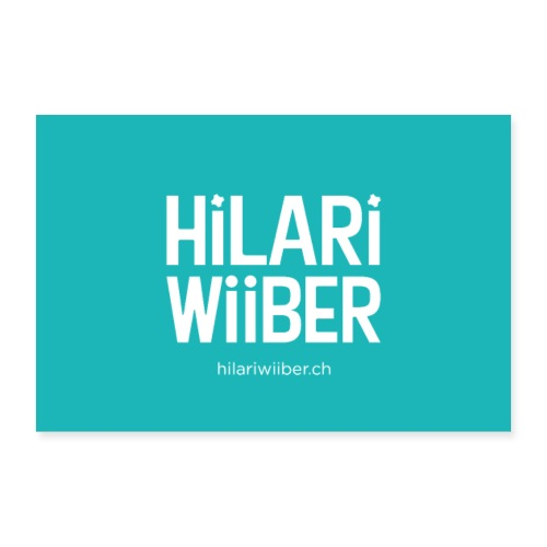 Hilari Wiiber Plakat - Poster 30x20 cm