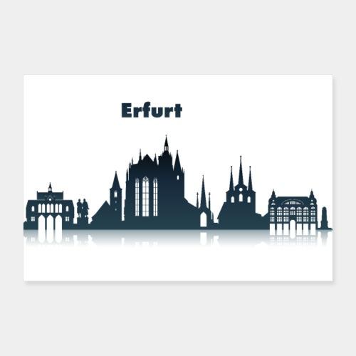 Erfurt Skyline - Poster 30x20 cm