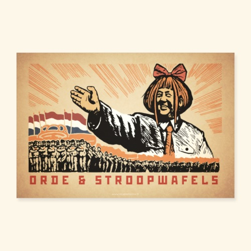Mymy Zedong - Poster 30x20 cm
