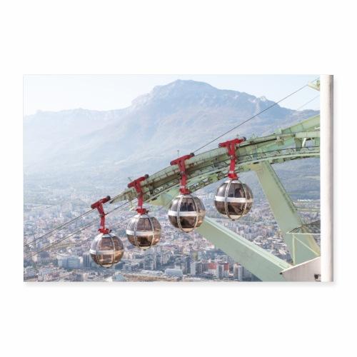 Téléphérique de Grenoble - Poster 30 x 20 cm