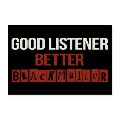Good Listener - Poster 12 x 8 (30x20 cm)