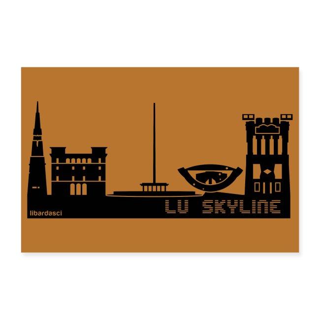 Poster: Lu Skyline rame