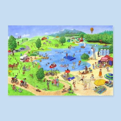 Im Sommer - Poster 30x20 cm