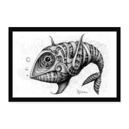 Pesce & Fish Poster - Poster 30x20 cm
