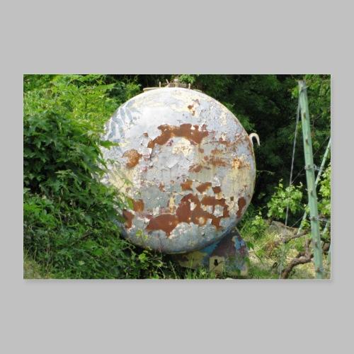 Der Tank - Poster 30x20 cm