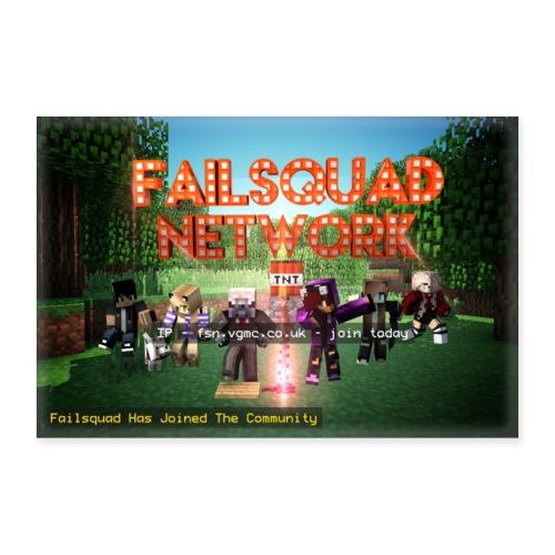 Failsquad Server Poster - Poster 12 x 8 (30x20 cm)