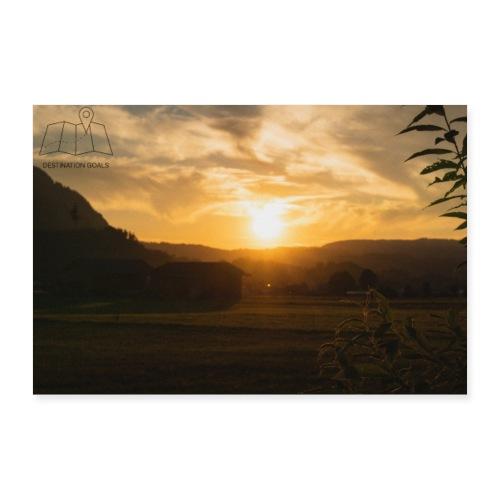 Sunset Poster - Poster 30x20 cm