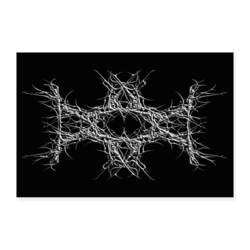 dark metal - Poster 30x20 cm
