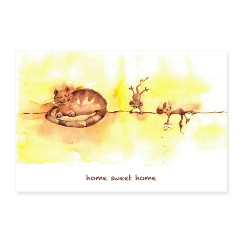 home sweet home POSTER - Poster 30x20 cm