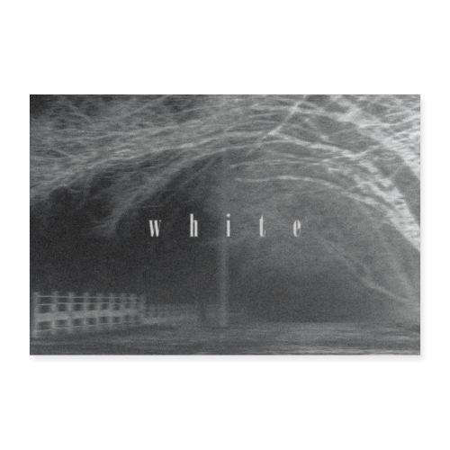 White - Poster 30x20 cm