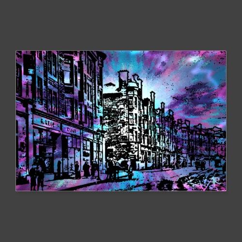 RFCOLLAGE25Bglas - Poster 12 x 8 (30x20 cm)