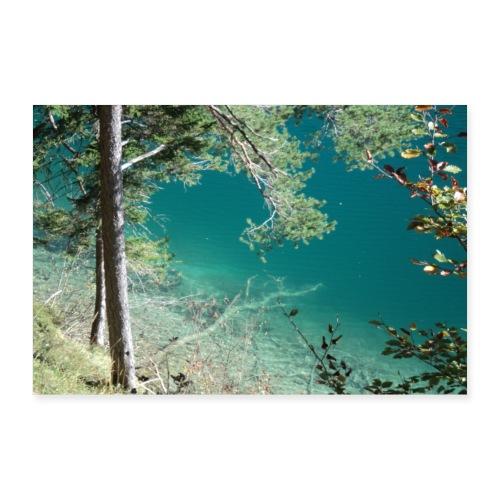 Alpsee, Königlicher Natursee - Poster 30x20 cm