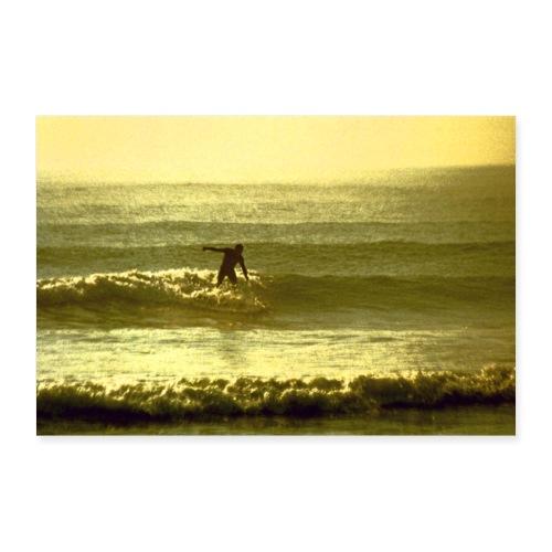 Pacific surf - Póster 30x20 cm