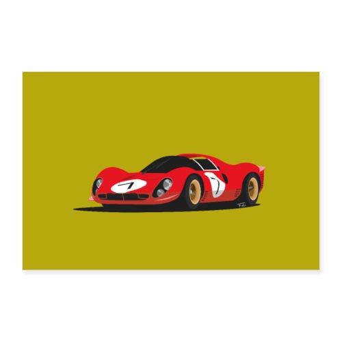 Illustration of a legend - Poster 30x20 cm