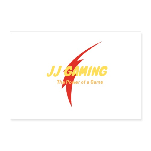 JJ Gaming 2020 Posters - Poster 12 x 8 (30x20 cm)