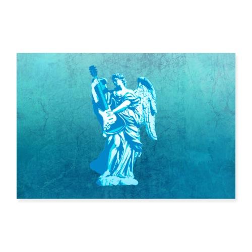 Liggende Engel - Poster 30x20 cm