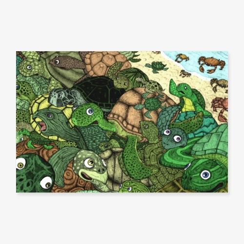 Crab Attack!! - Poster 30x20 cm