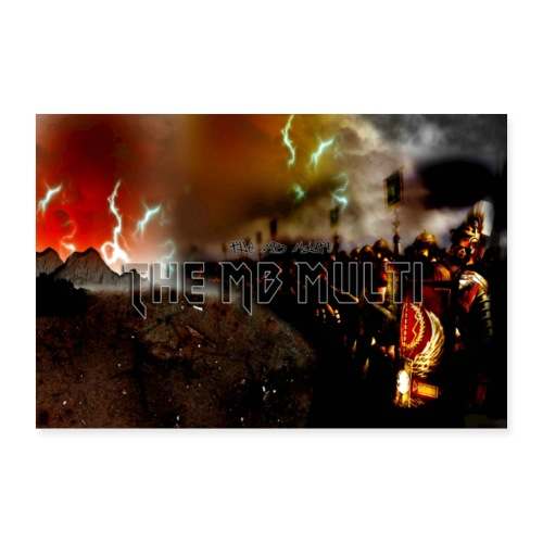 TheMBmulti Channel Banner - Poster 12 x 8 (30x20 cm)