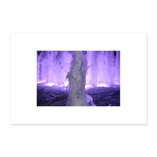 Springbrunnen001 - Poster 30x20 cm