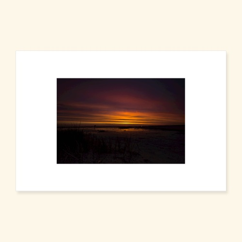 Sonnenuntergang in Dänemark - Poster 30x20 cm