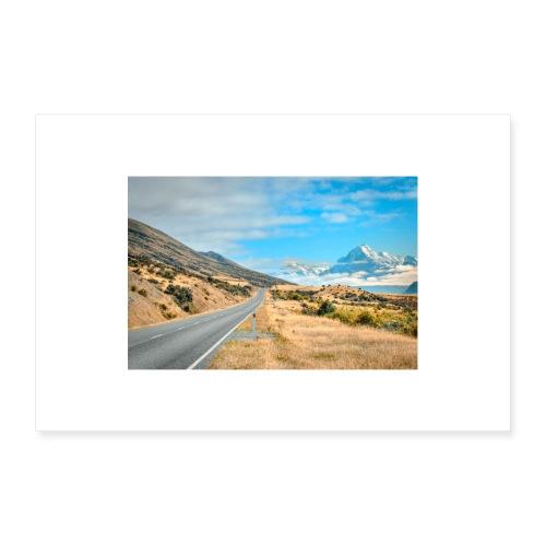 Mount Cook New Zealand - 30x20 cm Poster