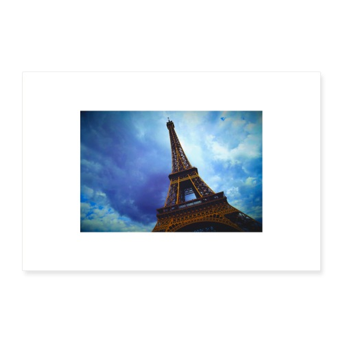 travel Paris France tower Canon French Europe land - Poster 30 x 20 cm