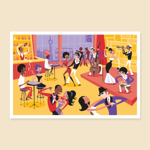 Mambo Party Poster - Poster 24 x 16 (60x40 cm)