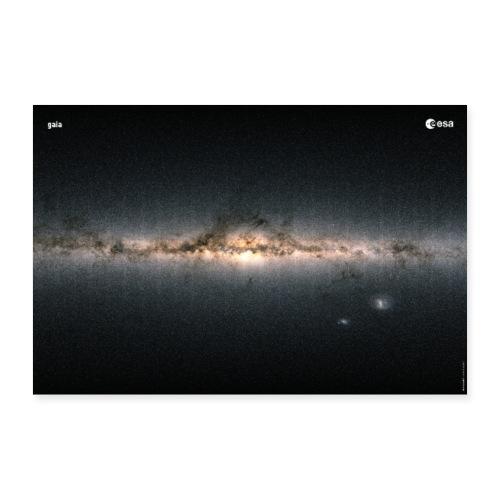 Gaia - Colour of the sky - Poster 24 x 16 (60x40 cm)