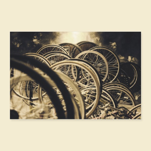 Poster   Radball   Cycle Ball 01 - Poster 60x40 cm