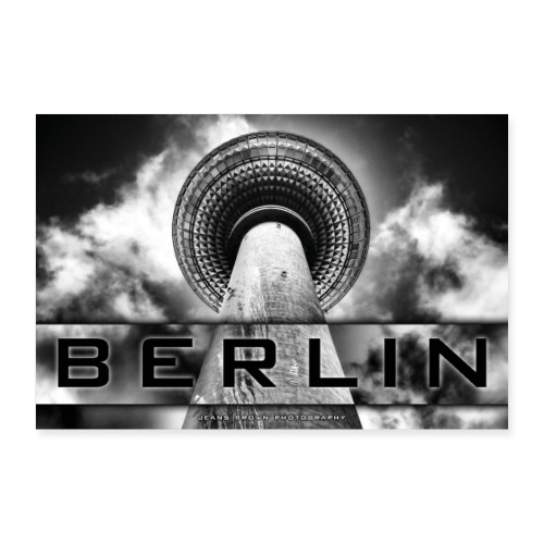 Berlin Fernsehturm - Jeans Brown Photography - Poster 60x40 cm
