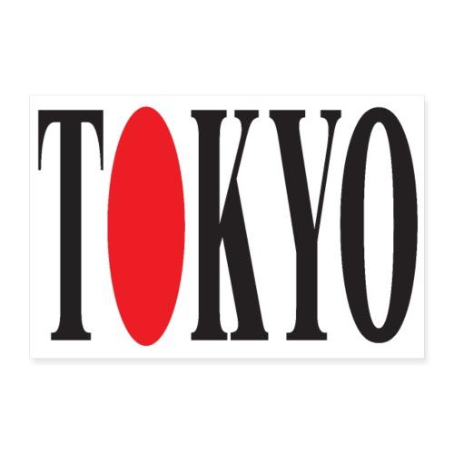 TOKYO 3 2 UK 01 - Poster 24 x 16 (60x40 cm)