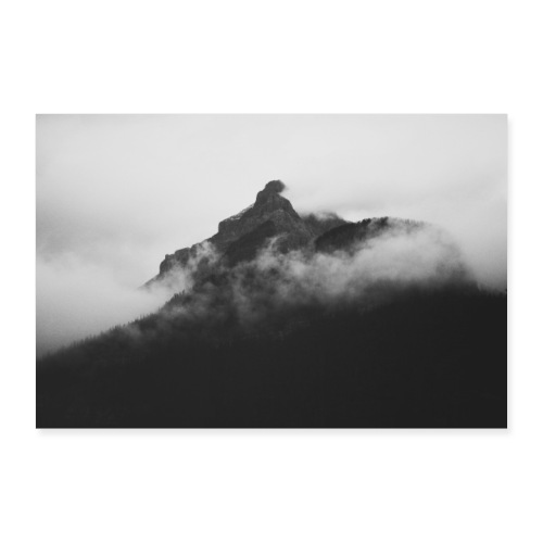 Mountains Canada - Poster 60x40 cm