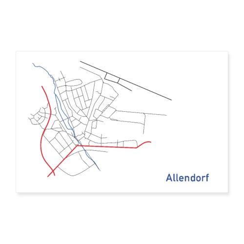 Allendorf II - Poster 60x40 cm