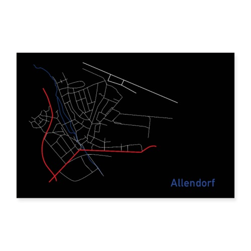 Allendorf I - Poster 60x40 cm