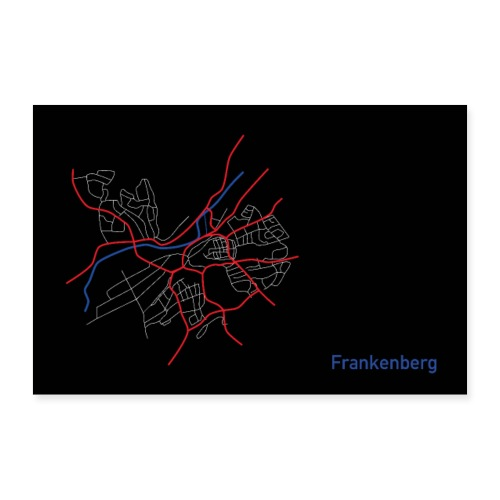 Frankenberg I - Poster 60x40 cm