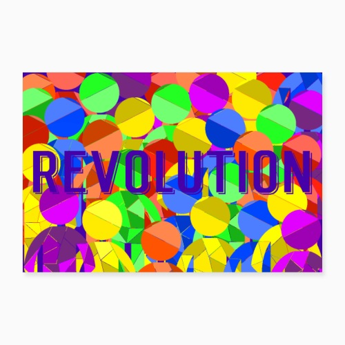 Revolution - Poster 24 x 16 (60x40 cm)