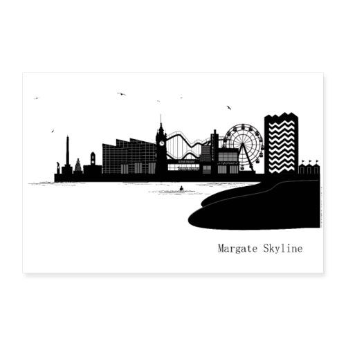Margate Skyline - Poster 24 x 16 (60x40 cm)