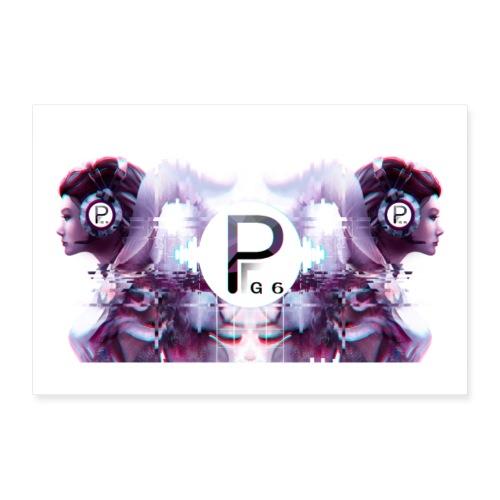 PG6 Poster - Poster 60x40 cm