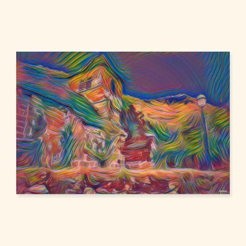 color church - Poster 60 x 40 cm