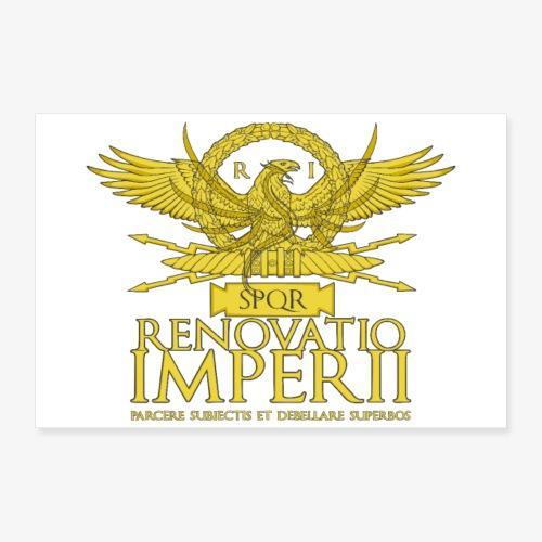 Poster Renovatio Imperii - Poster 60x40 cm