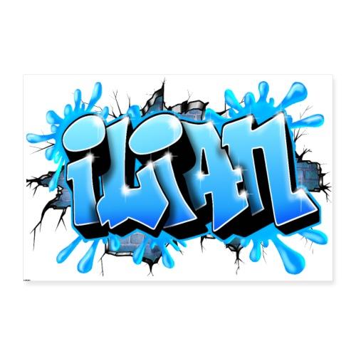 Ilian Graffiti by Max le Tagueur - Poster 60 x 40 cm