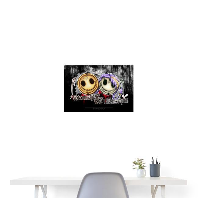 Poster totenknopf totenknöpfin